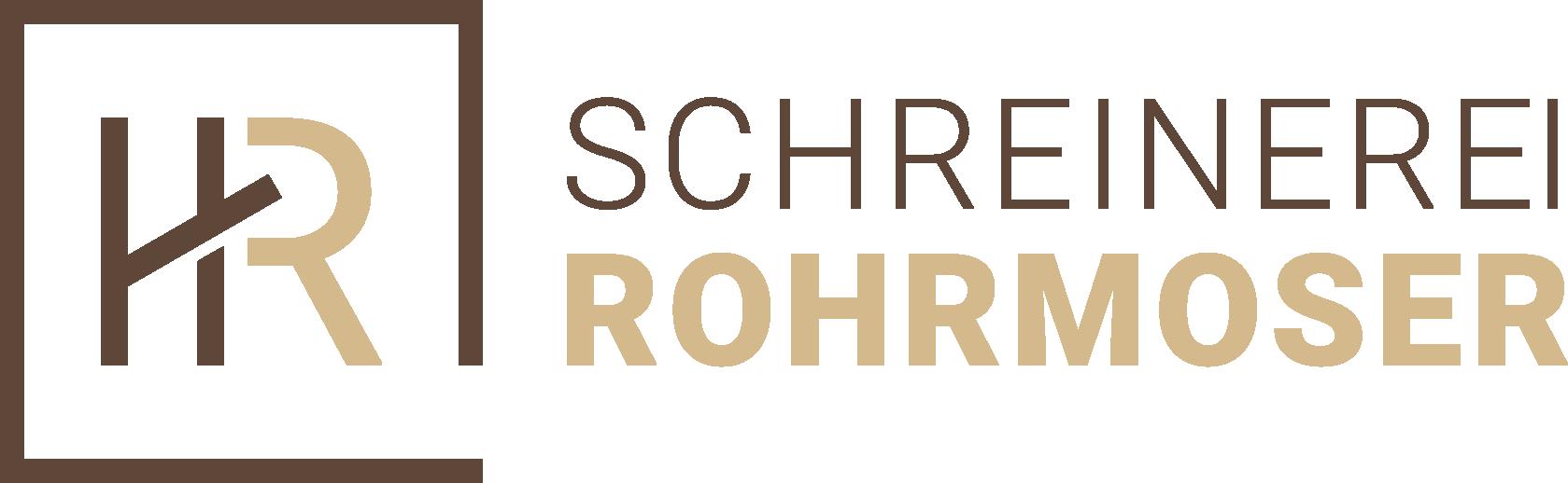 Schreinerei Hans Rohrmoser Logo